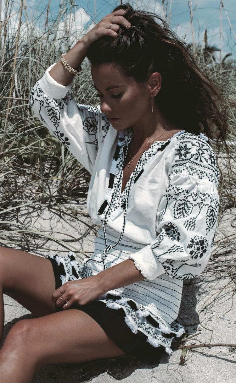 Summer of Diane Style Blogger Julia Szendrei Jewelry SoBe 2